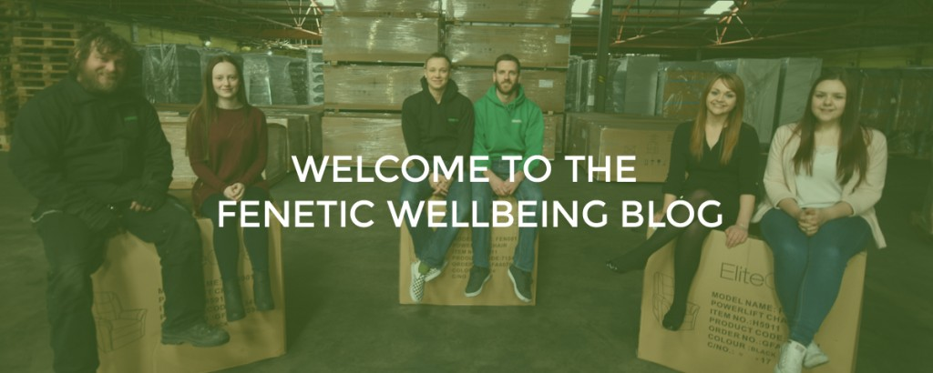 Welcome to the Fenetic Wellbeing Blog... Blog