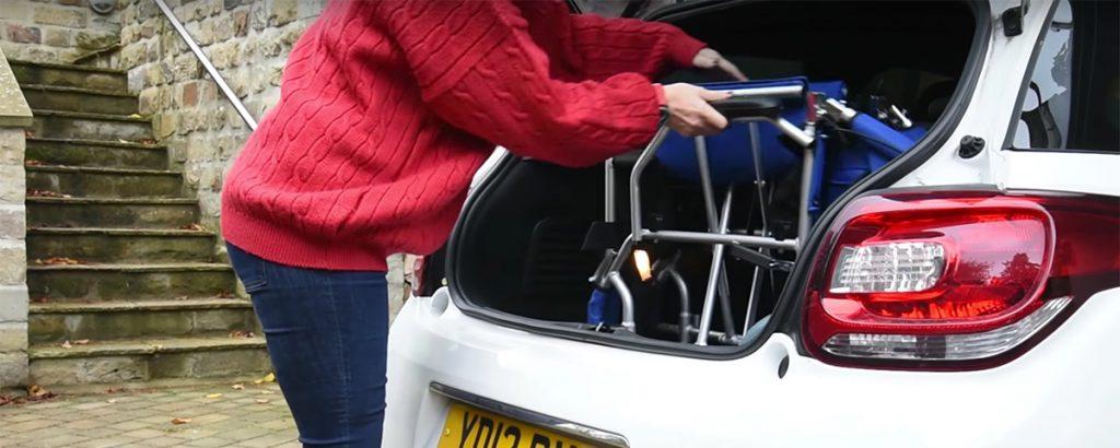Folding Travel Wheelchairs Under 10kg!