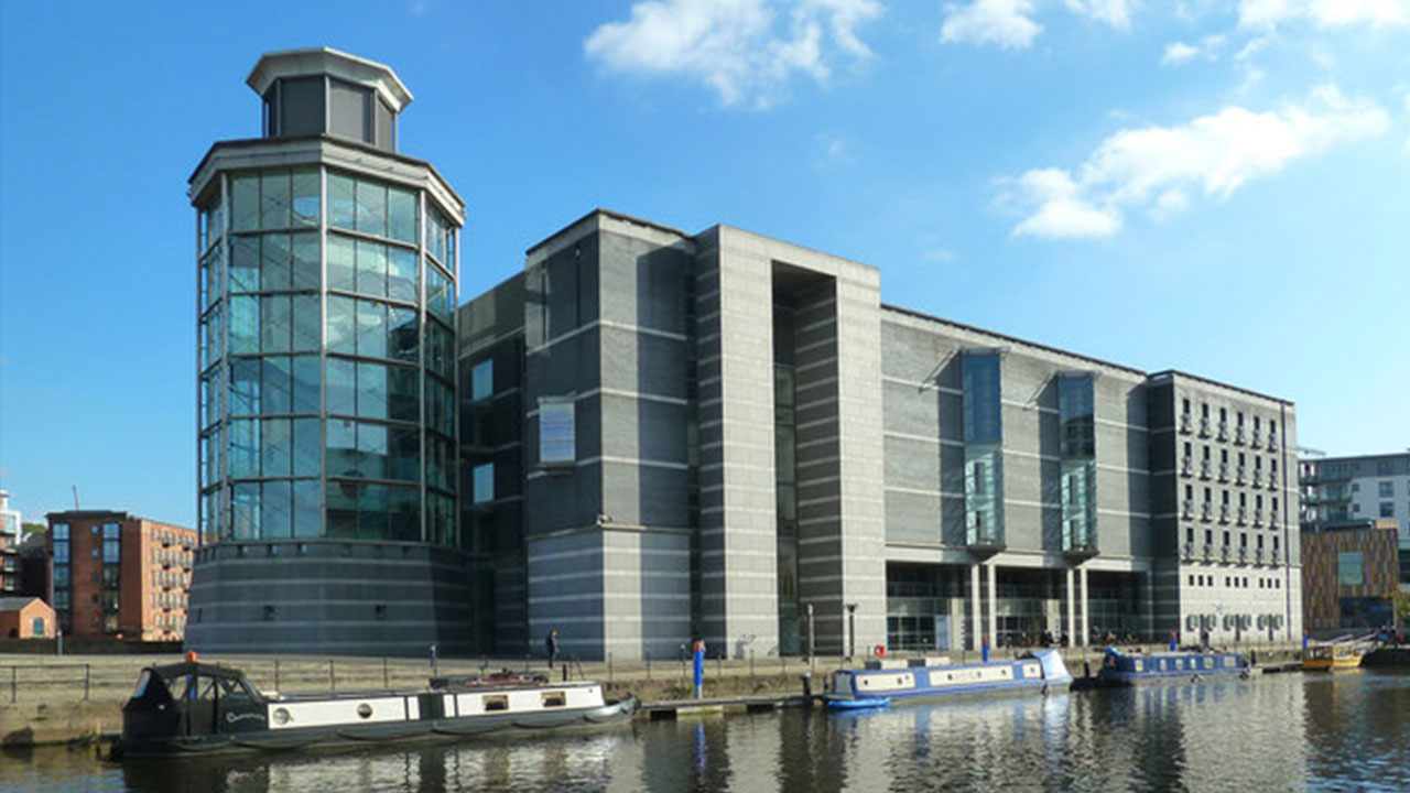 View of the museum at Leeds Dock