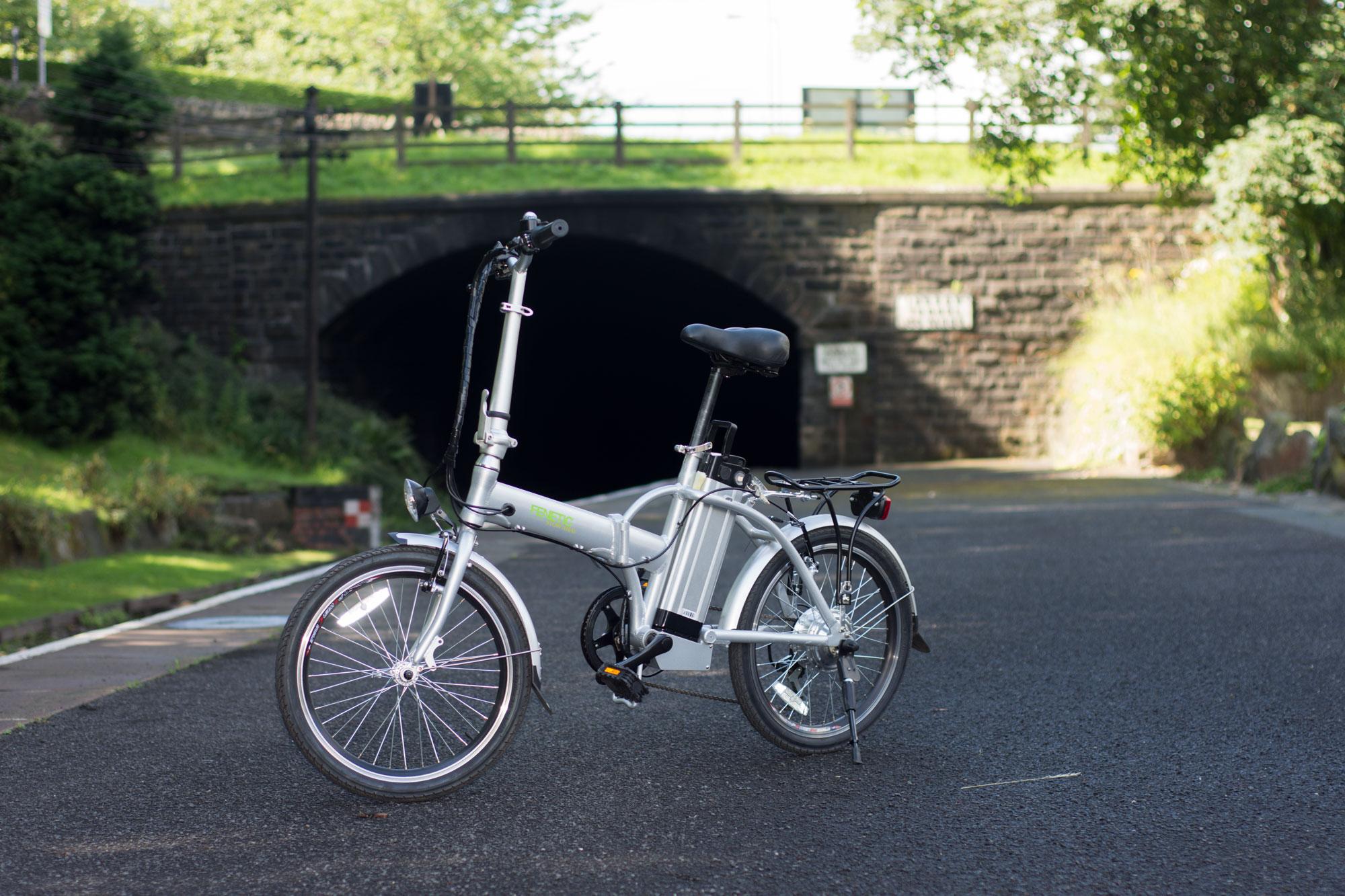 Fenetic Stowaway folding electric bike