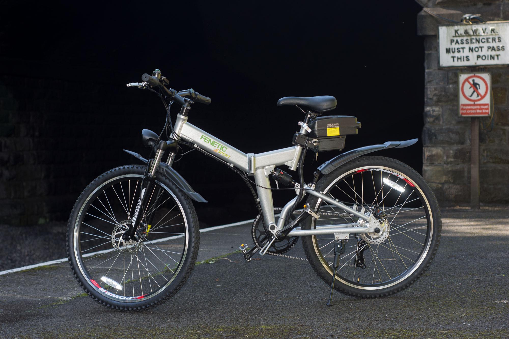 Fenetic Sport folding electric mountain bike