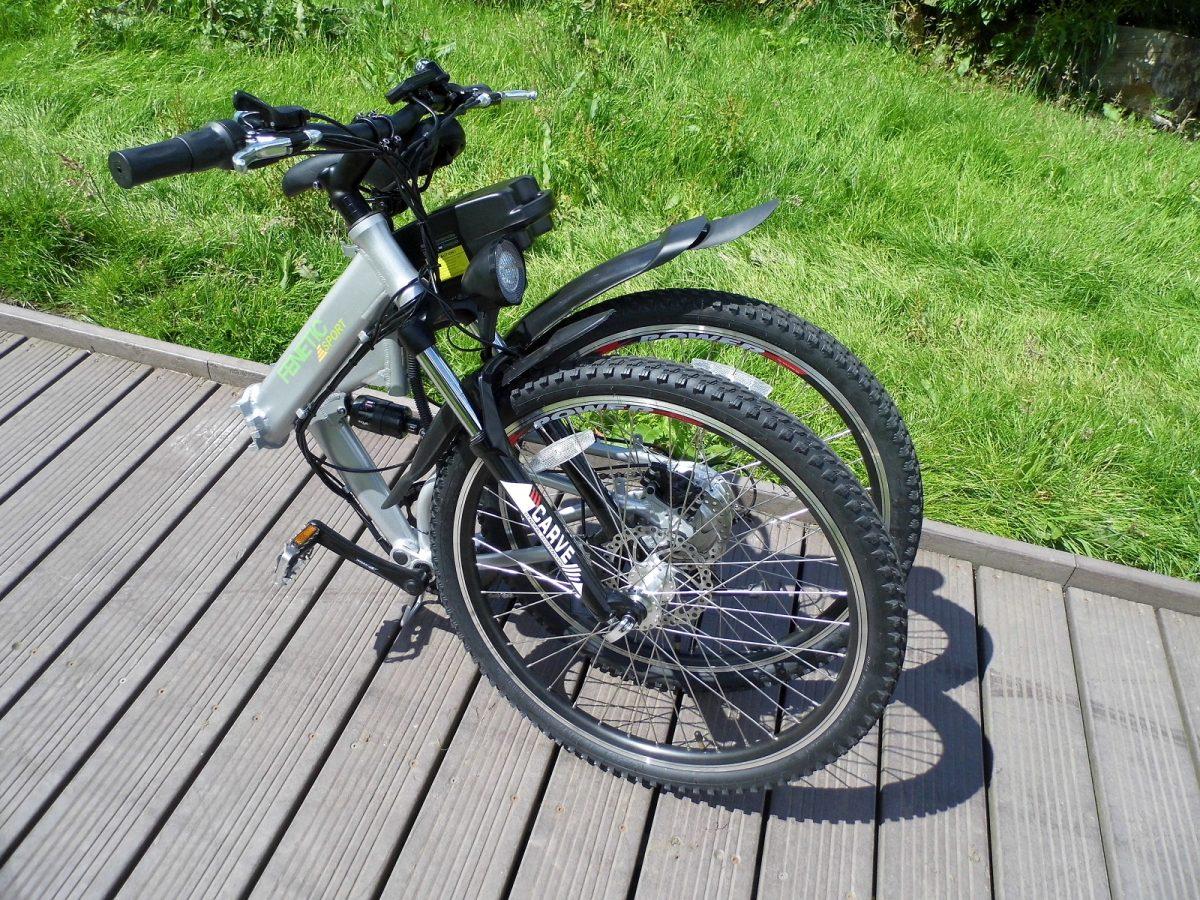 Fenetic sport folding electric mountain bike folded