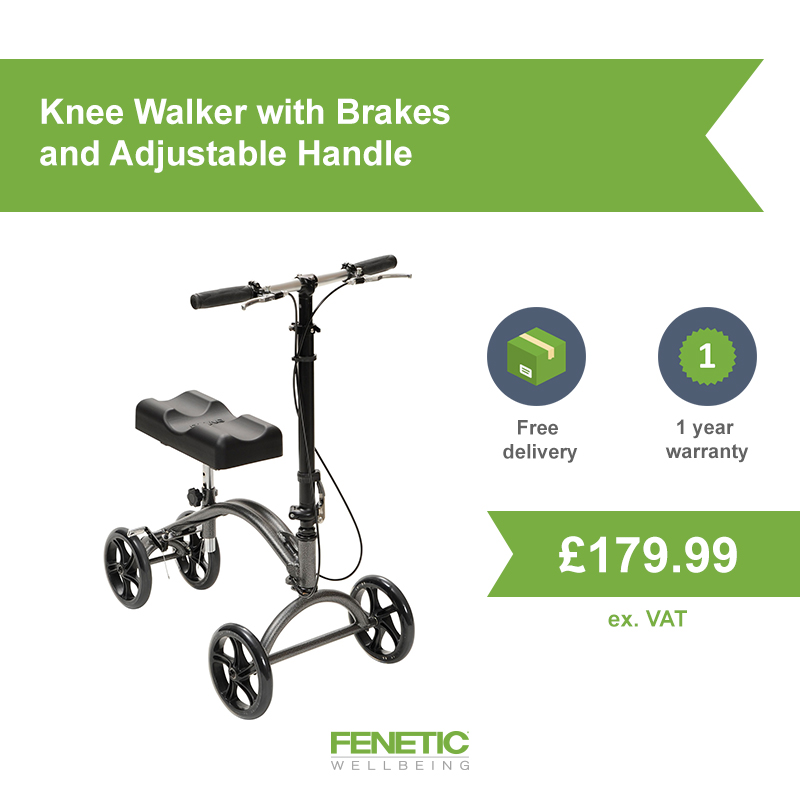 Knee walker an alternative to crutches