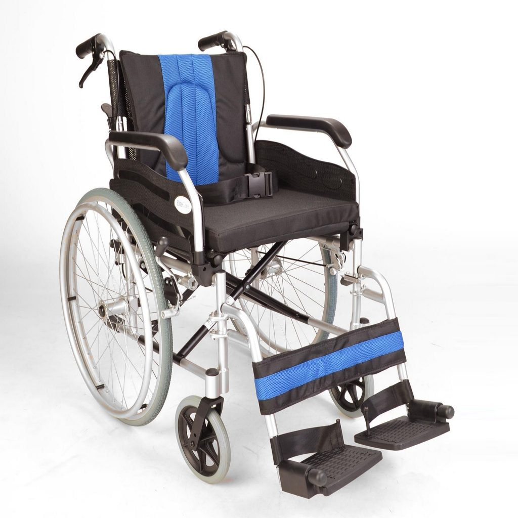 Self propel wheelchair with handbrakes ECSP01-16