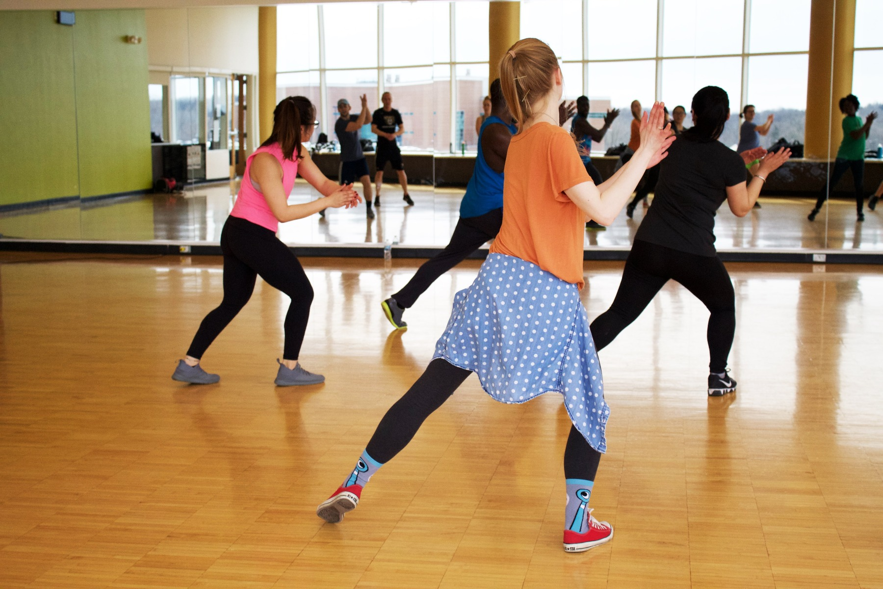 get your heart rate up with zumba