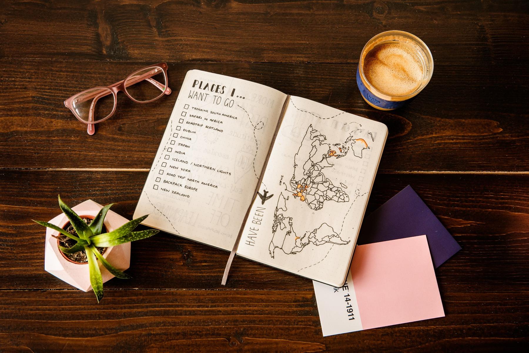 how to write a bucket list